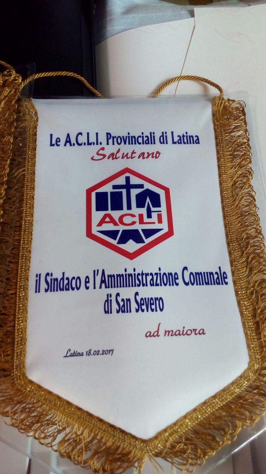 """Acli Latina: """"Solidarietà a Giunta di San Severo dopo intimidazione a corpi dipolizia"""""""