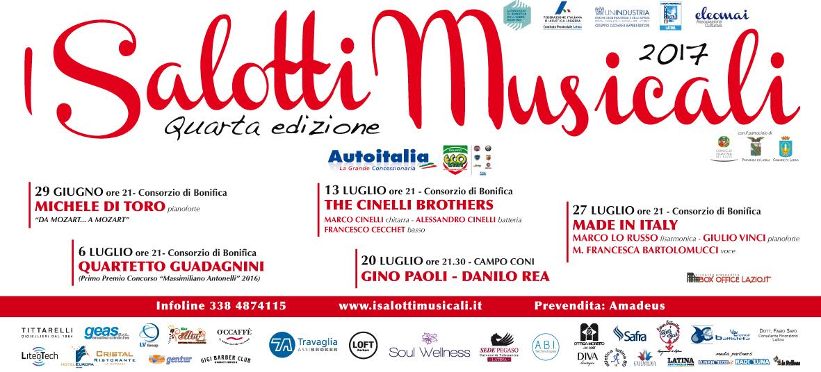 I SALOTTI MUSICALI2017