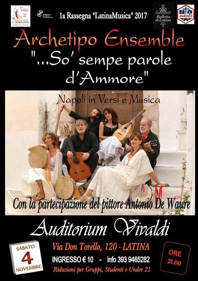 La canzone d'autore Napoletana all'AuditoriumVivaldi