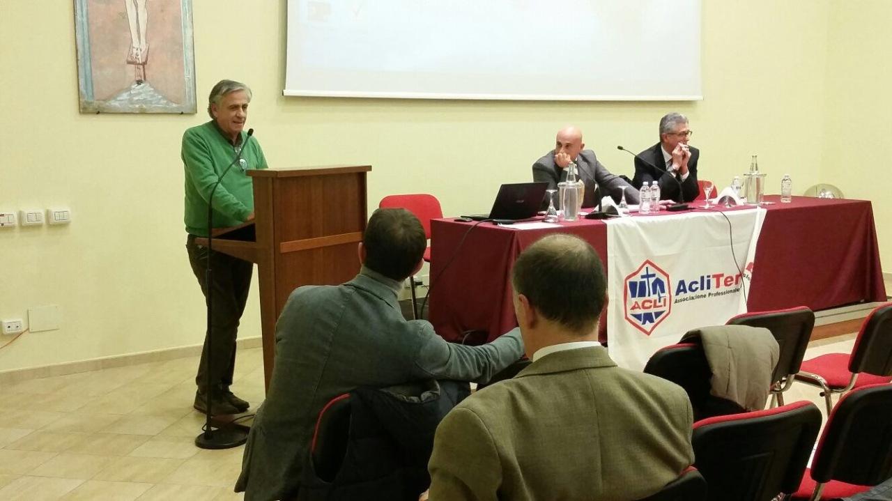 CONGRESSO ACLI TERRA LATINA: AMPIO DIBATTITO ED ELETTO PRESIDENTE AGOSTINOMASTROGIACOMO