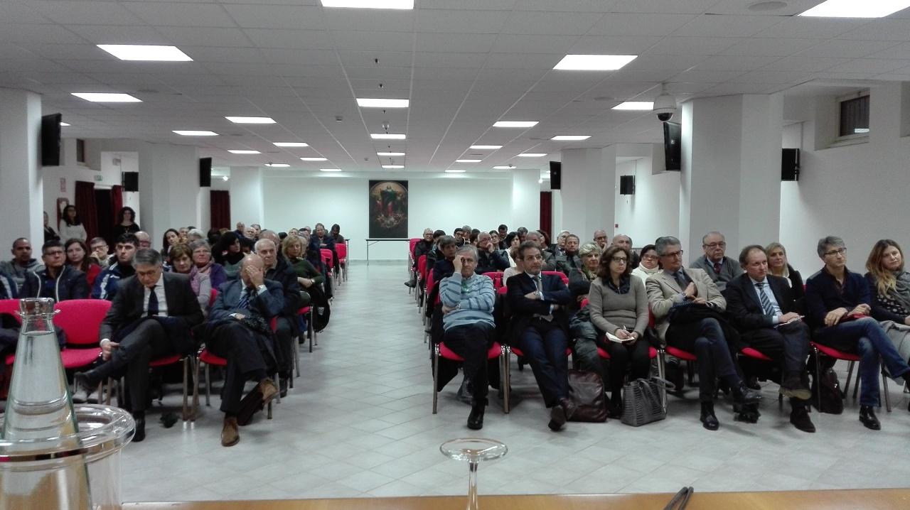 Relazione incontro con Forum Terzo Settore dell' 11/01/2018 presso la CuriaVescovile