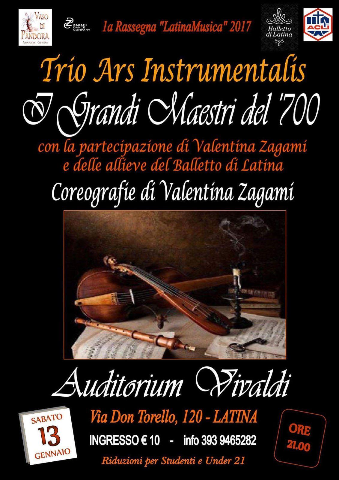 Con l'Auditorium Vivaldi si torna nel'700