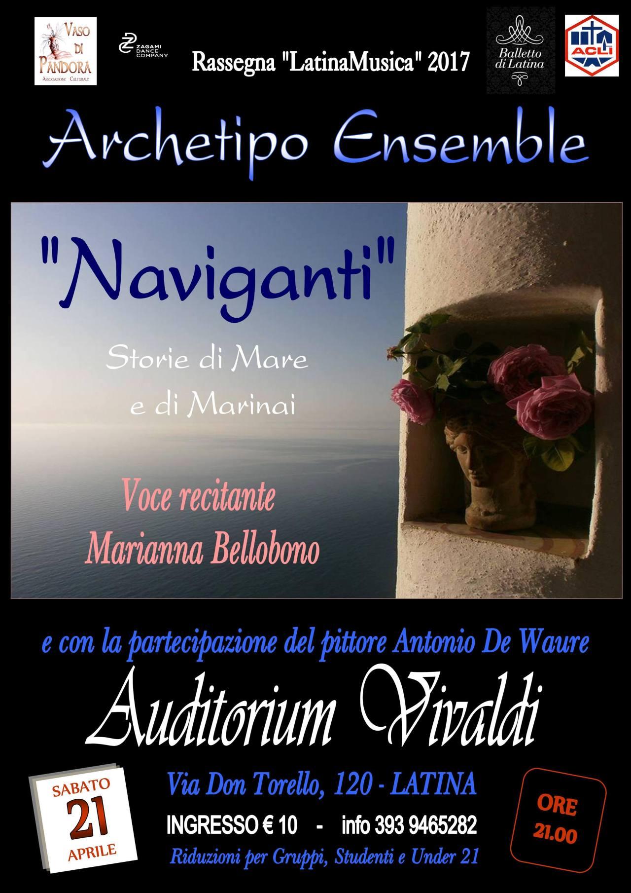 I canti del mediterraneo di scena alVivaldi