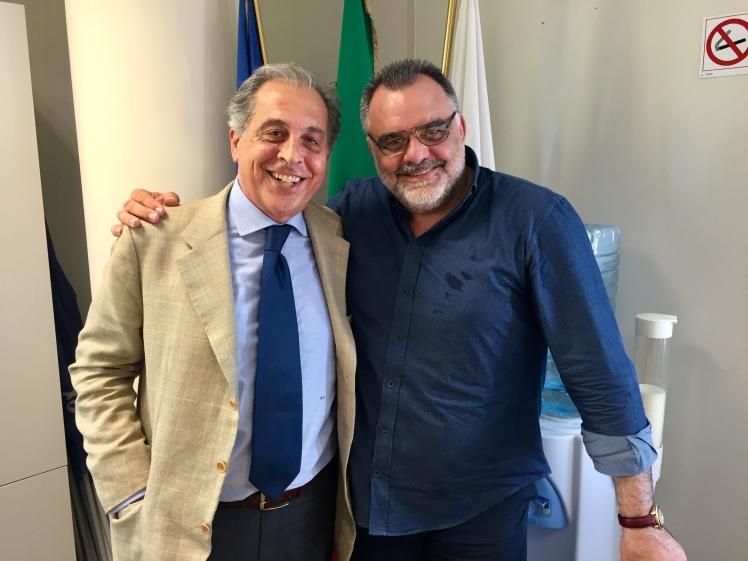 Il Presidente Iannotta con il Vice Presidente Castelli