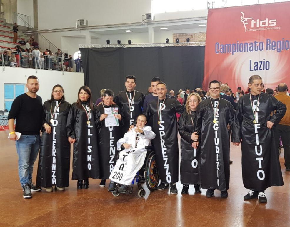 La Cooperativa Sociale Osiride ai campionati europei di danzaparaolimpica