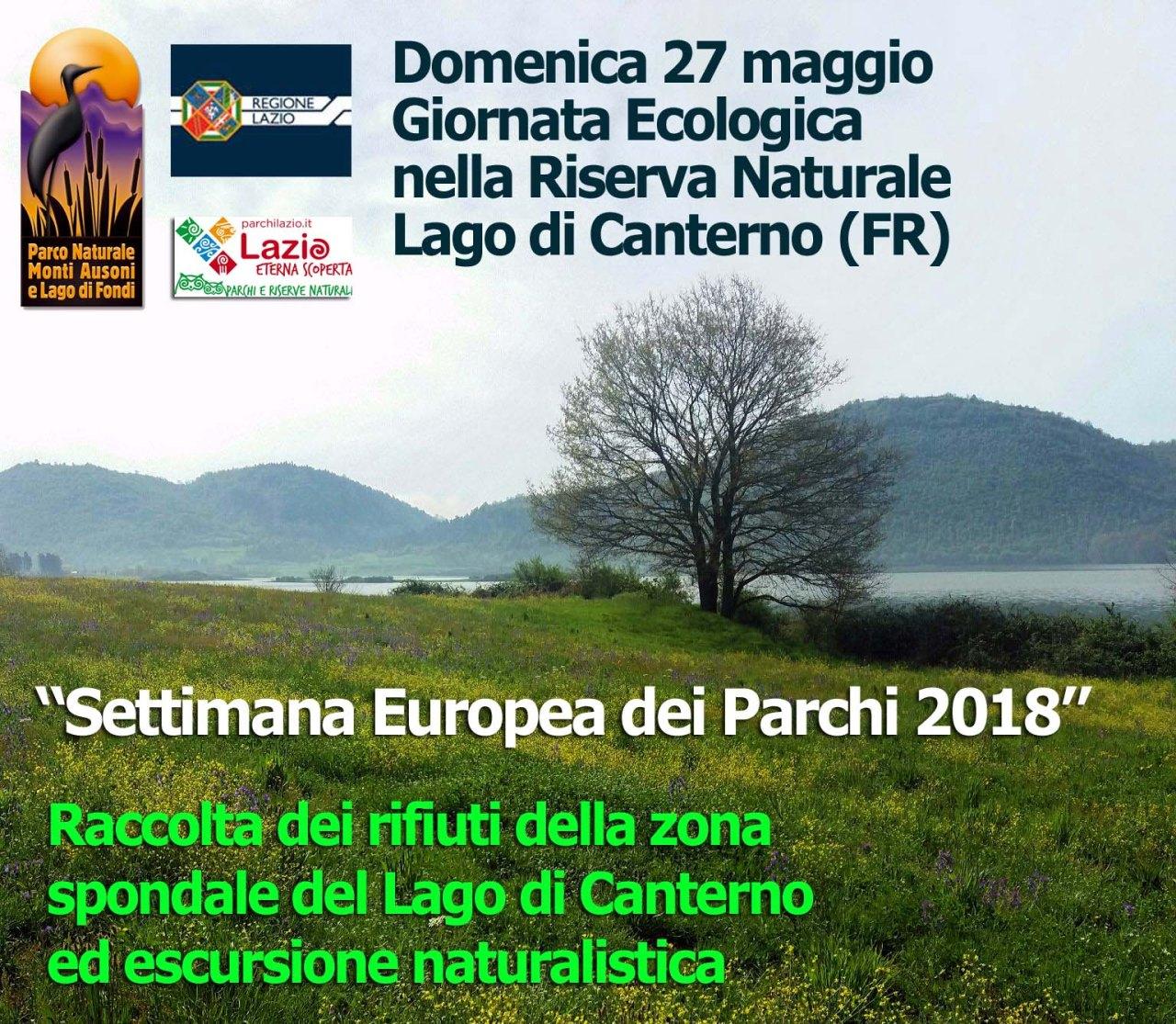 Parco Ausoni: Giornata ecologica nella Riserva Naturale Regionale Lago diCanterno