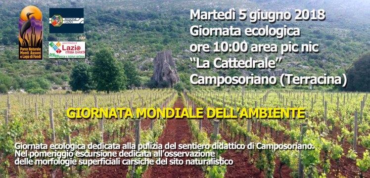 Giornata ecologica Camposoriano 5 giugno 2018
