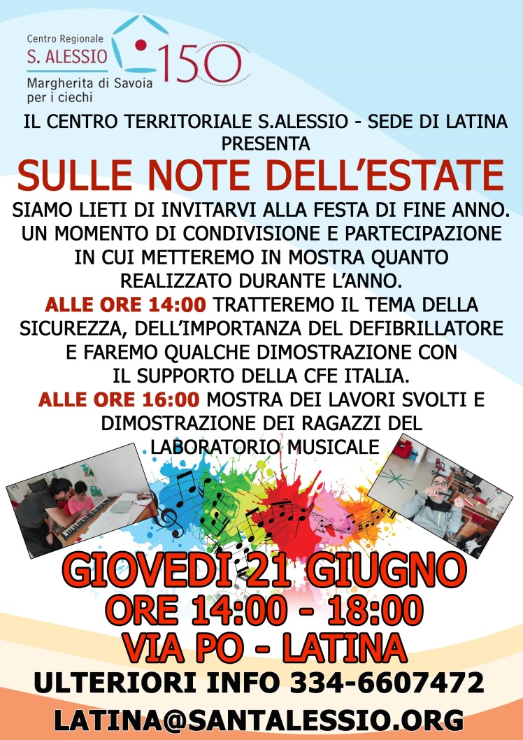 SULLE NOTE DELL'ESTATE INVITO WEB