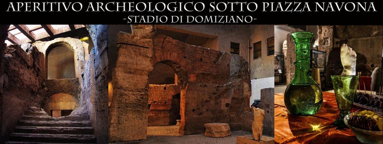 Aperitivo Archeologico sotto PiazzaNavona