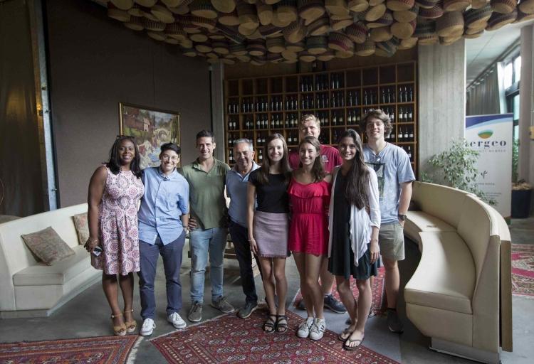 Gli studenti del South Carolina visitano le aziende diLatina