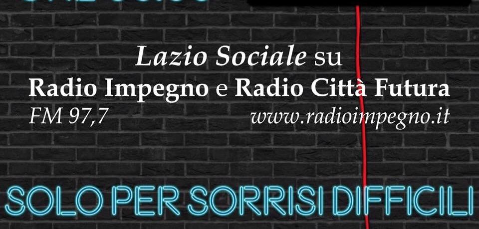 Da settembre nuove per Lazio Sociale On-Air su Radio Impegno e Radio CittàFutura