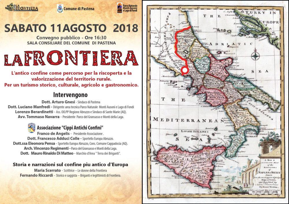 Antico confine Convegno a Pastena 11 agosto2018