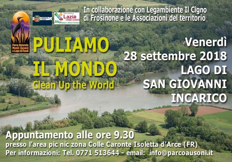 Banner Puliamo il Mondo Lago San Giovanni Incarico venerdì 28 settembre 2018.jpg