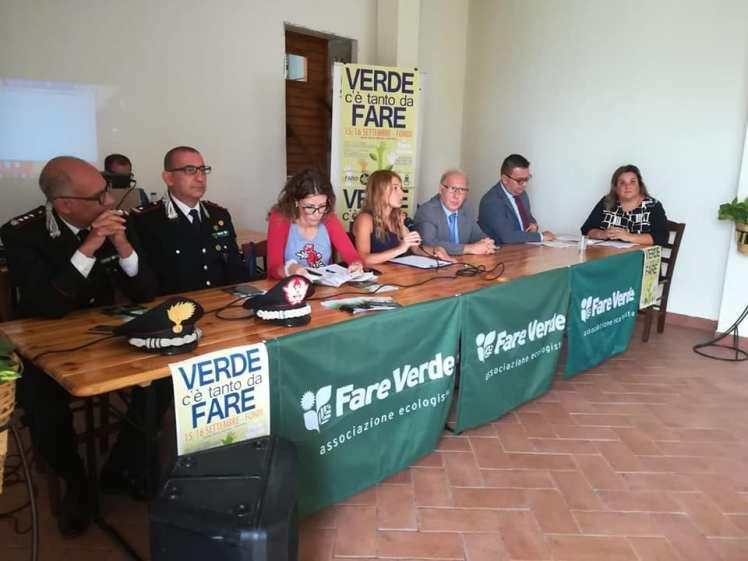 Il tavolo dei principali relatori