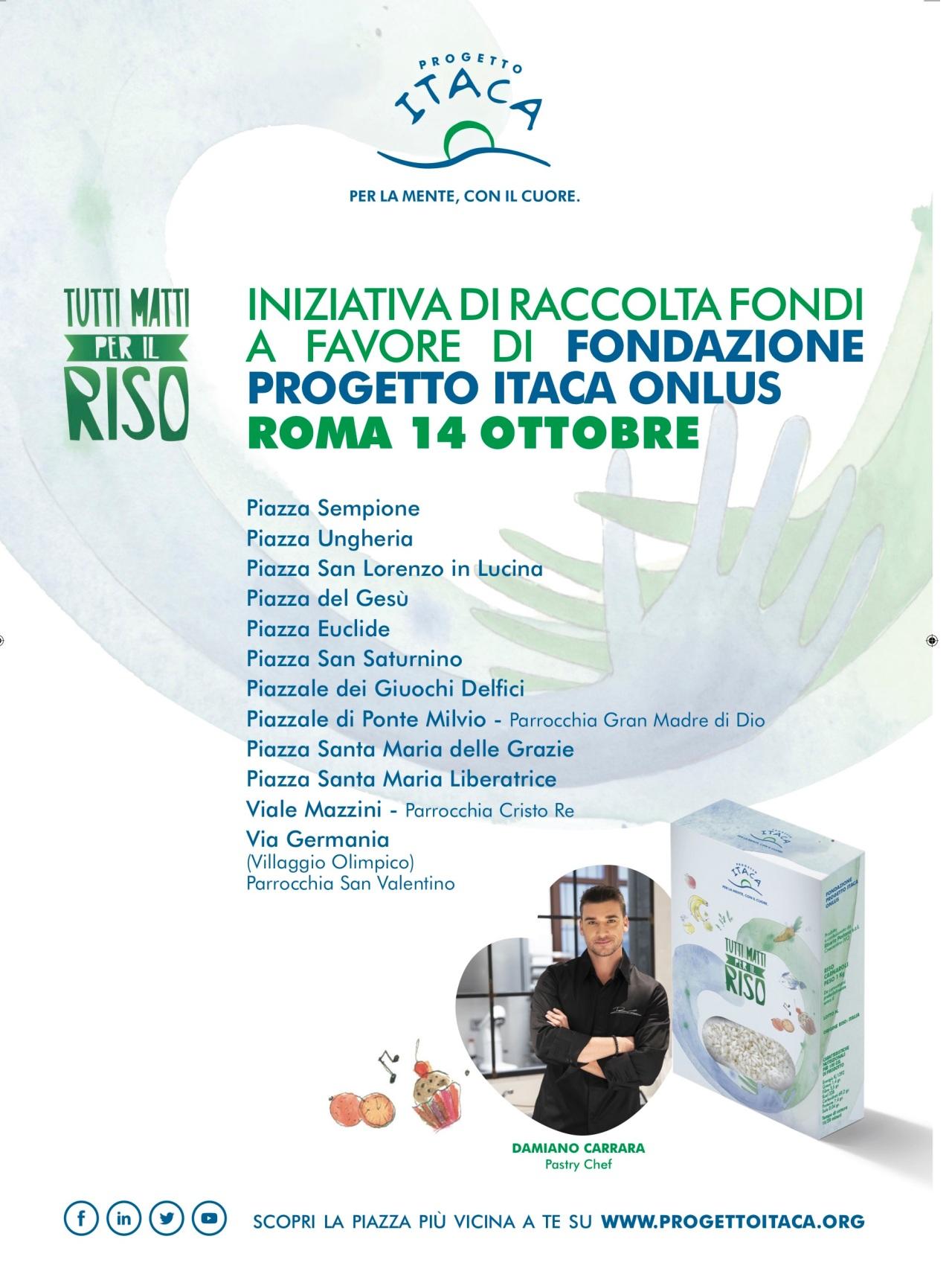 """Progetto Itaca Onlus in tutta Italia per la Giornata Mondiale della Salute Mentale  """"Tutti matti per ilriso"""""""