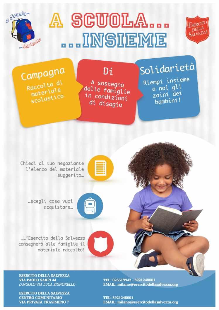 RIDOTTO 1 A Scuola Insieme - Milano Cartolibrerie Kit scuola 'sospeso'- settembre 2018