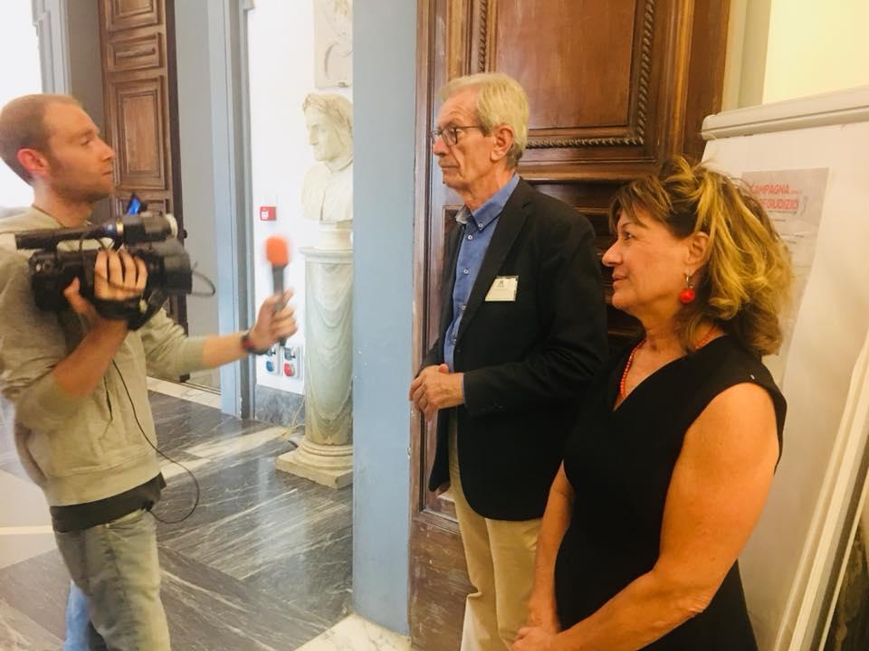 PALUMBO: DUE MESI CON TANTI INCONTRI A ROMA E IN TUTTA ITALIA CON NOSTRA CAMPAGNA 'OLTRE ILPREGIUDIZIO'