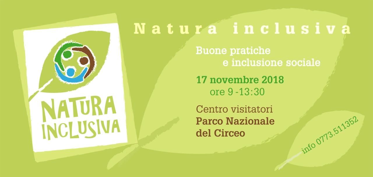 """Fish Latina Onlus: """"Natura Inclusiva: buone pratiche e inclusione sociale"""", 17 novembre 2018 – intervista alla Presidente ManuelaPimpinella"""
