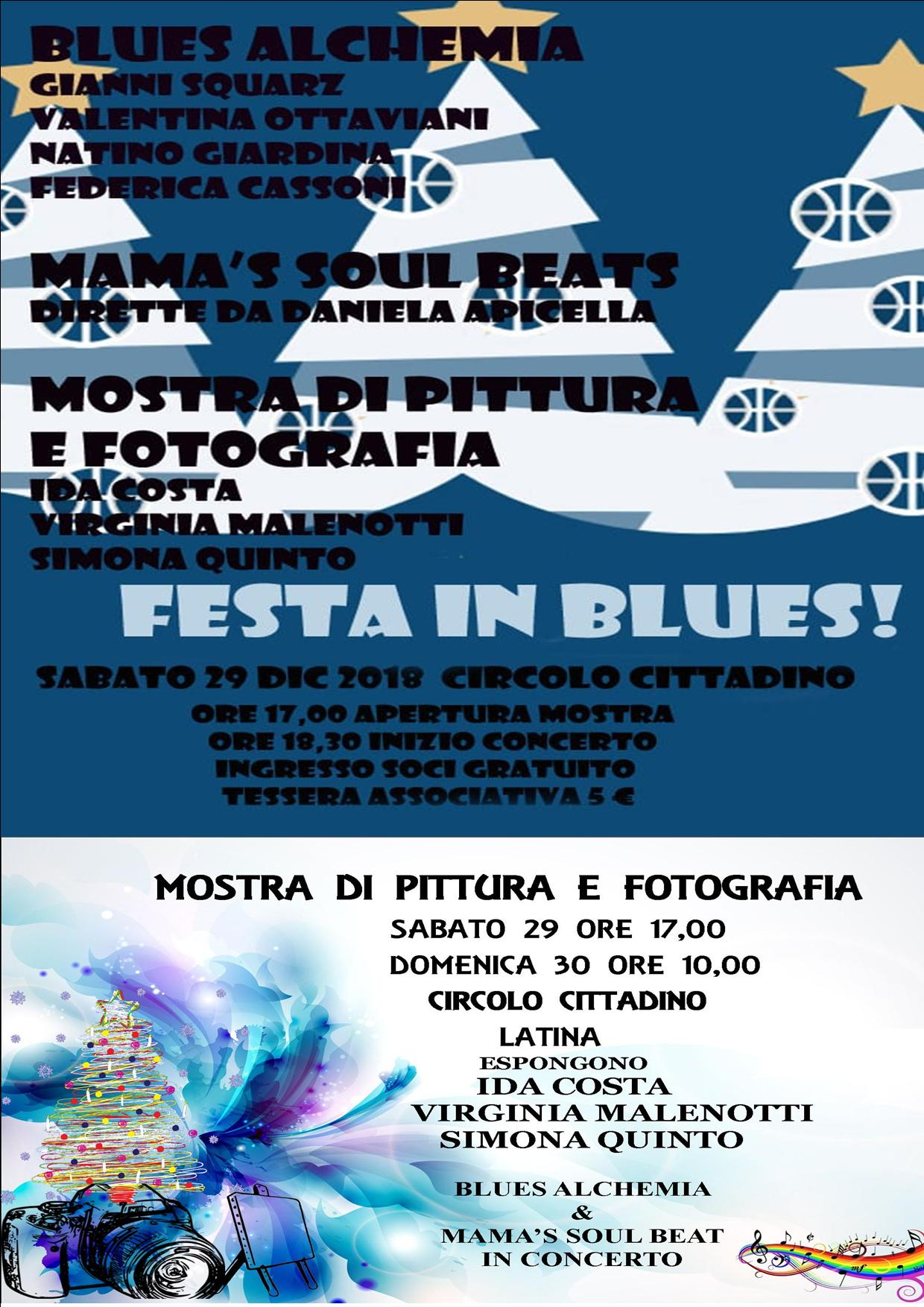 The Blues Alchemia, 29 dicembre ore 18.30