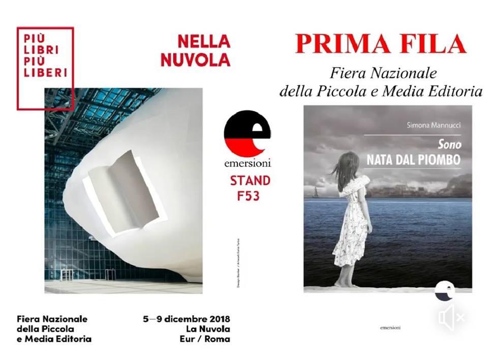 L'autrice di Gaeta Simona Mannucci alla Fiera Più Libri piùLiberi