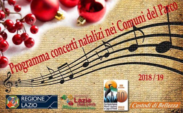 """Domenica 27 gennaio 2019 a Monte San Biagio (LT) concerto finale del programma """"Natale nelParco"""""""