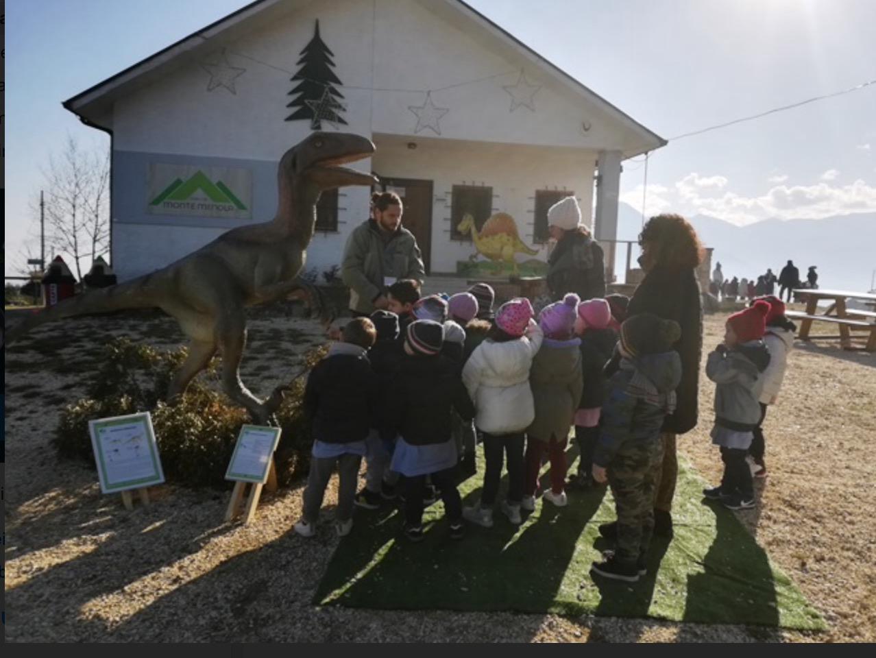 Ultimi giorni per visitare il Parco paleontologico di MonteMenola
