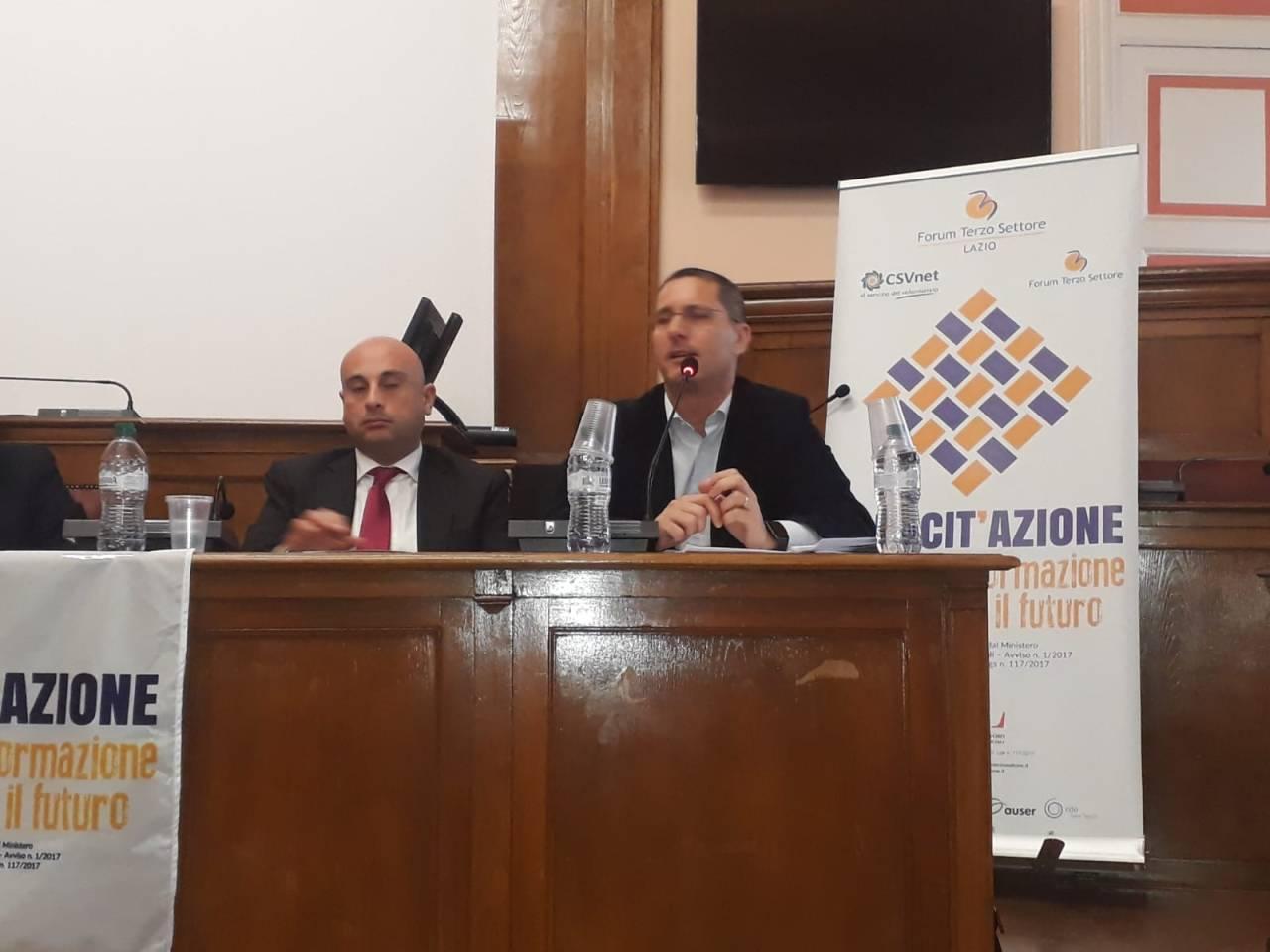 Il Forum del Terzo settore laziale a Campobasso, il progetto Capacit'Azione