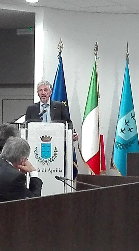 Ad Aprilia Liberazione e Fondazione con il Presidente nazionale delle AcliRossini