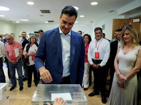 Europee: exit poll Spagna, vince Sanchez; giu' popolari e Vox