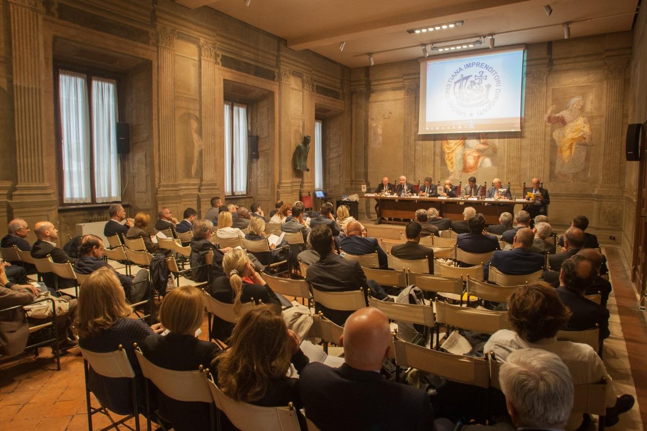 """UCID GIOVANI: SUCCESSO PER IL PRIMO INCONTRO DEL CICLO """"CONOSCEREL'UCID"""""""