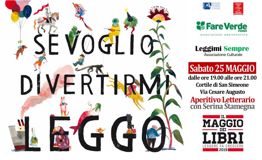 """Sabato 25 Maggio – Aperitivo Letterario con """"Fare Verde"""" per """"Il Maggio deiLibri"""""""