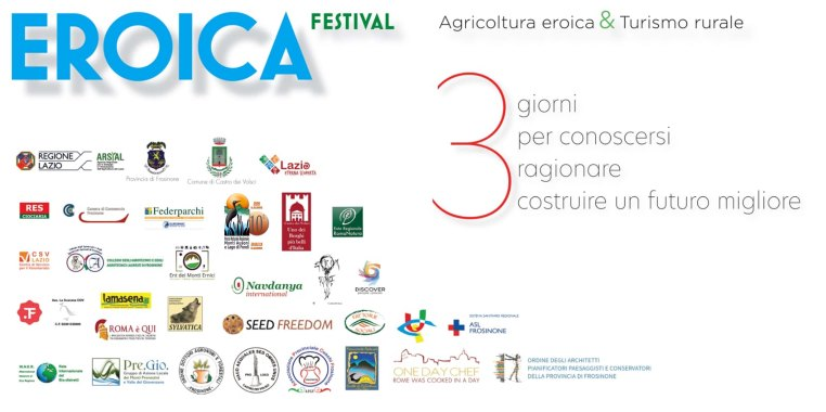 Agricoltura eroica & turismo rurale 2019 banner