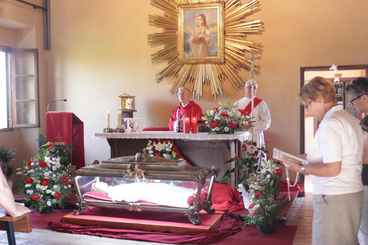 La diocesi pronta a festeggiare la patrona S. Maria Goretti,si inizierà il 29 giugno con il pellegrinaggio notturno alla Casa delmartirio