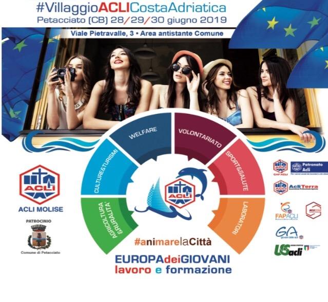 """Lazio Sociale alla festa delle Acli del Molise, """"Terzo Settore ed Economia Civile"""" – sabato 29giugno"""
