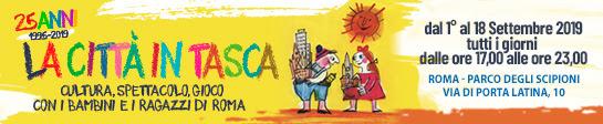 La Città in Tasca: a Roma un settembre tutto all'insegna dellasostenibilità