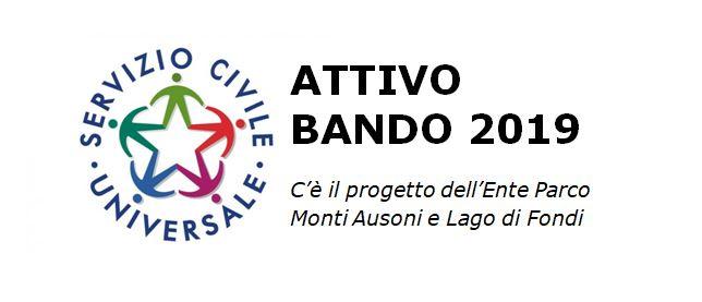 Promemoria scadenza Bando Servizio Civile2019