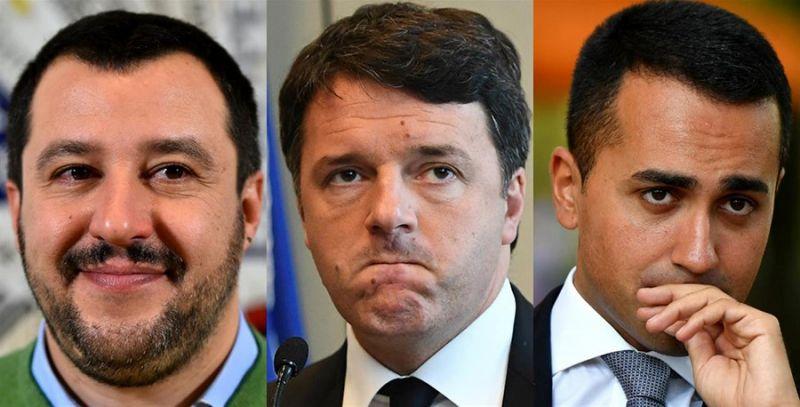 Lo schema sa di già visto: Giuseppe Conte stretto tra due ingombranti azionisti della maggioranza, Di Maio e Matteo (ieri Salvini, oggiRenzi).