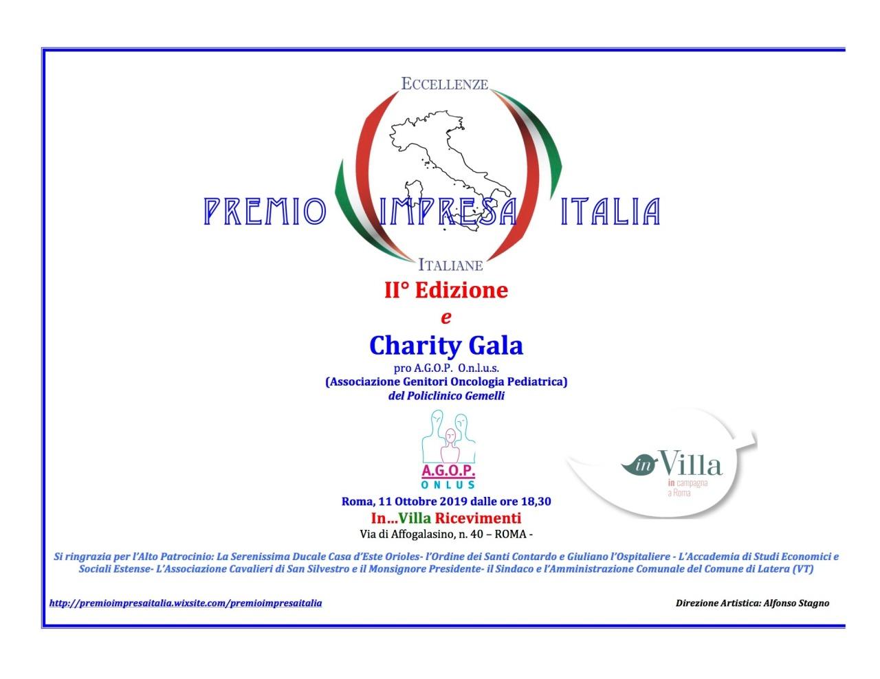 PRE EVENTO 2^ EDIZIONE PREMIO IMPRESA ITALIA – RICONOSCIMENTO ALLE ECCELLENZEITALIANE