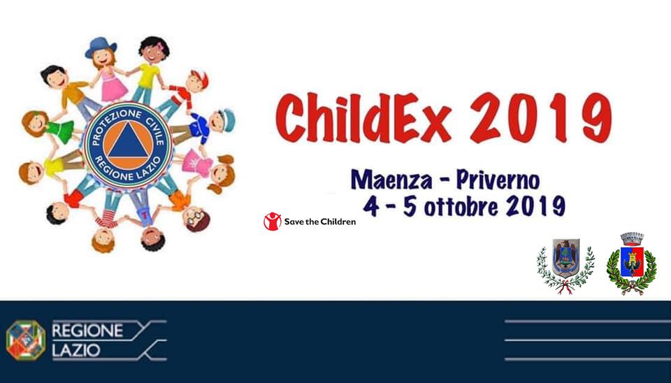 """PROTEZIONE CIVILE: DOMANI A PRIVERNO E MAENZA AL VIA """"CHILDEX2019"""""""