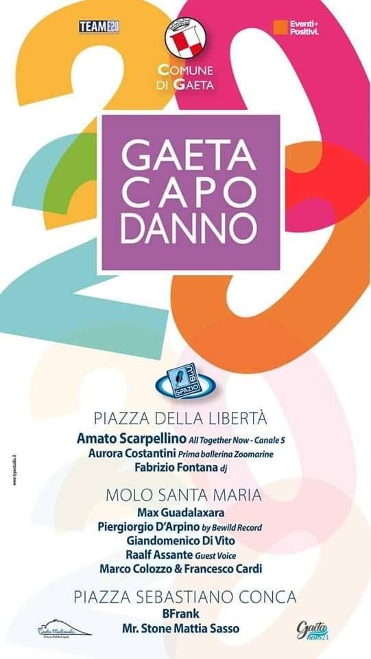 Il Capodanno a Gaeta si fa in tre con Radio SpazioBlu