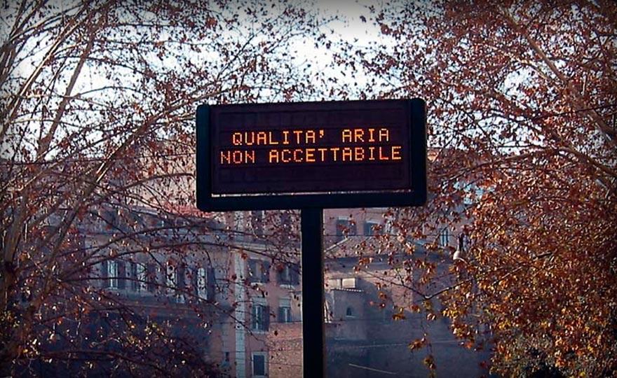 Smog: Roma, Pm10 oltre limiti in 8 centraline su13