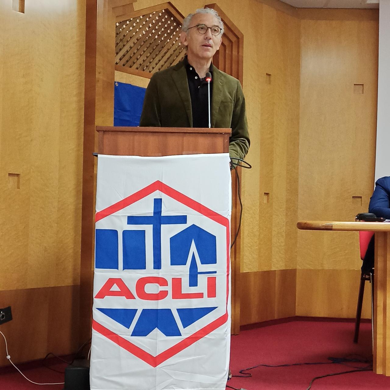 XXVII° Congresso Acli Latina: DamianoColetta