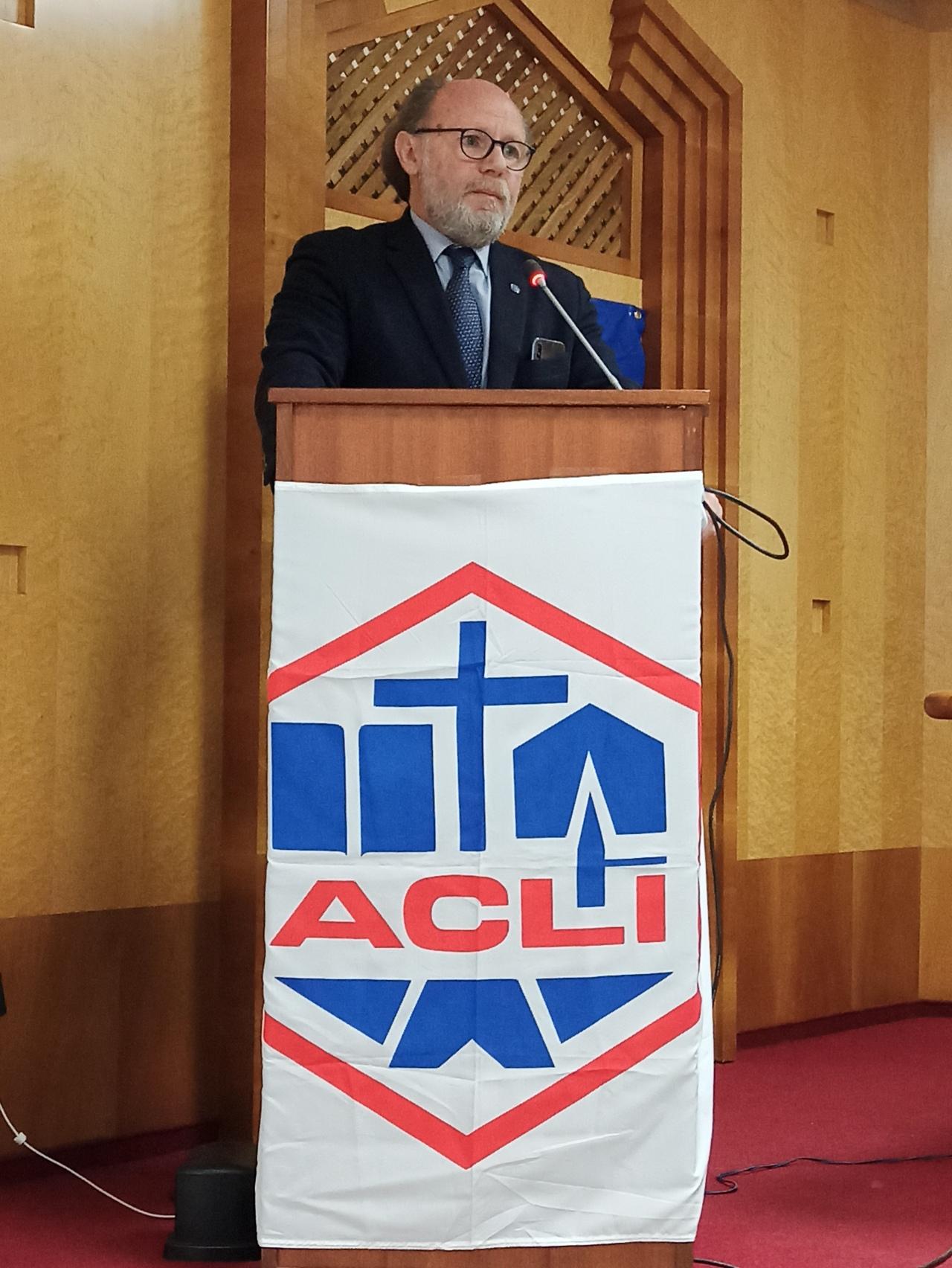 XXVII° Congresso Acli Latina: Giampaolo bonfiglio (consiglio consultivomediterraneo)