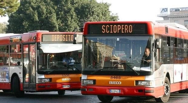 ROMA: LUNEDI' SCIOPERO RETE ATAC, TRASPORTO PUBBLICO ARISCHIO