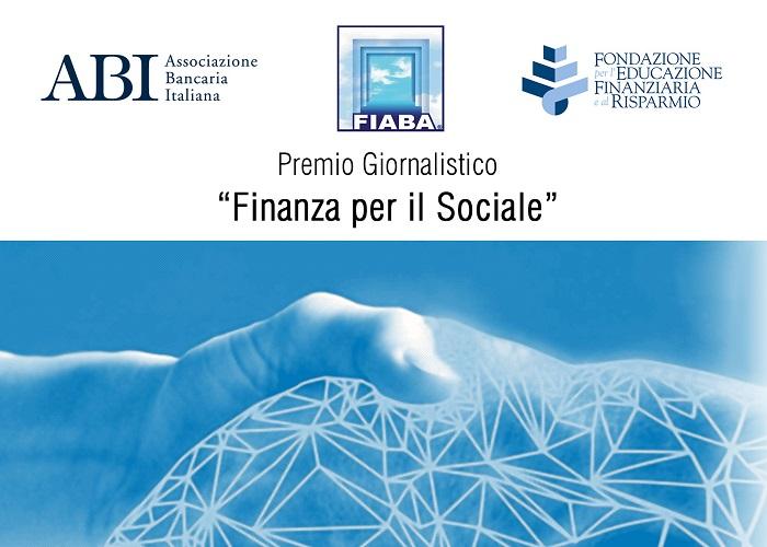 """Premio giornalistico """"Finanza per il Sociale"""". Ultime settimane per partecipare alla Vedizione"""