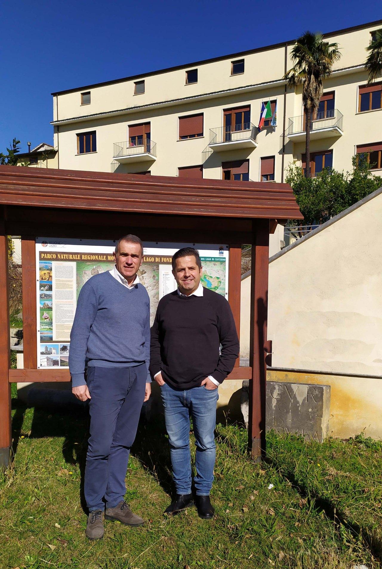 Lucio De Filippis da oggi 6 febbraio è il nuovo Direttore dell'Ente Parco Monti Ausoni e Lago di Fondi