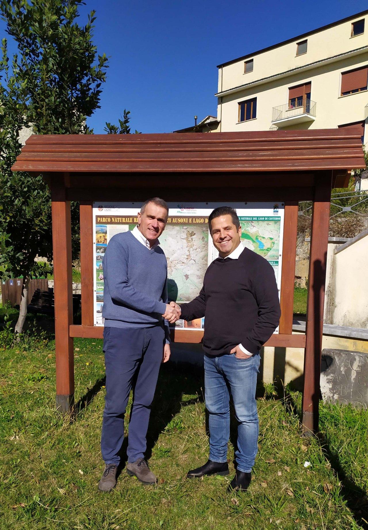 EnteParcoAusoni - Presidente Bruno Marucci e Direttore Lucio De Filippis -02