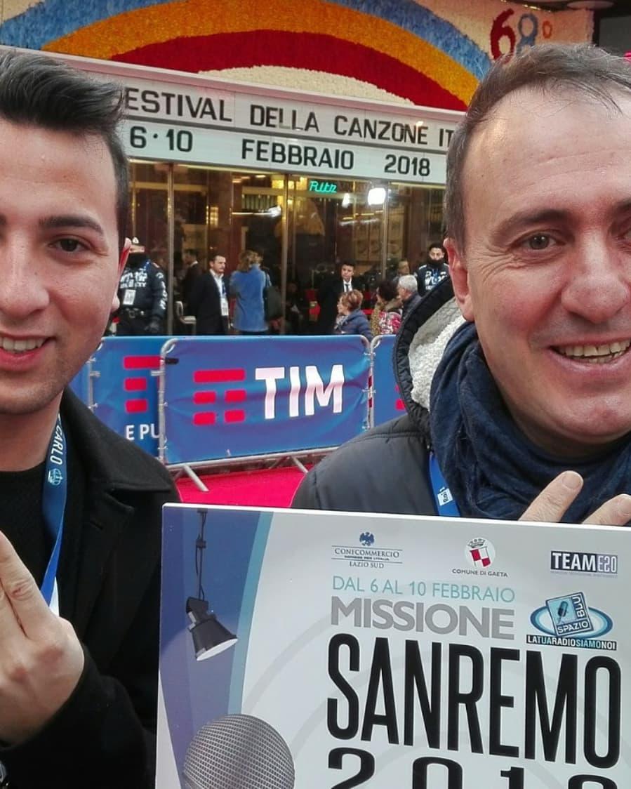 Radio Spazio Blu a Sanremo per promuovere ilterritorio