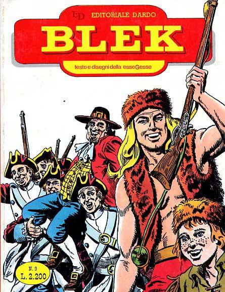 Blek Macigno, il GrandeBlek