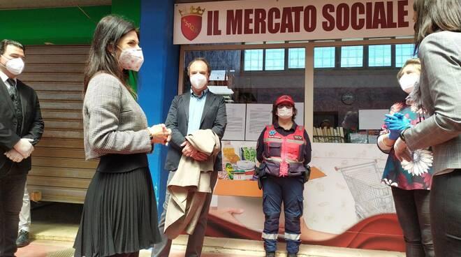 CORONAVIRUS. COMUNE ROMA: AL VIA A OSTIA PRIMO MERCATO SOCIALE RAGGI: PENSATO A RISPOSTA CONCRETA E IMMEDIATA A LIVELLOLOCALE